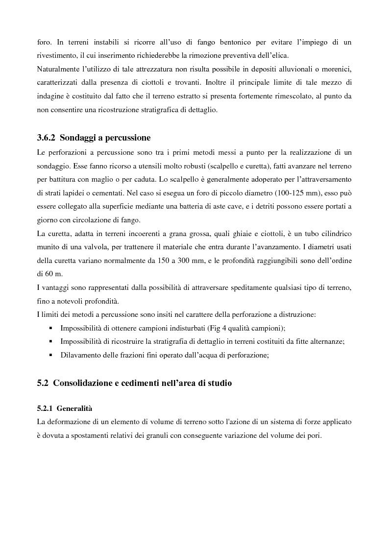 Anteprima della tesi: Caratterizzazione geologica e geotecnica di un sito per la realizzazione di un parco eolico, Pagina 10