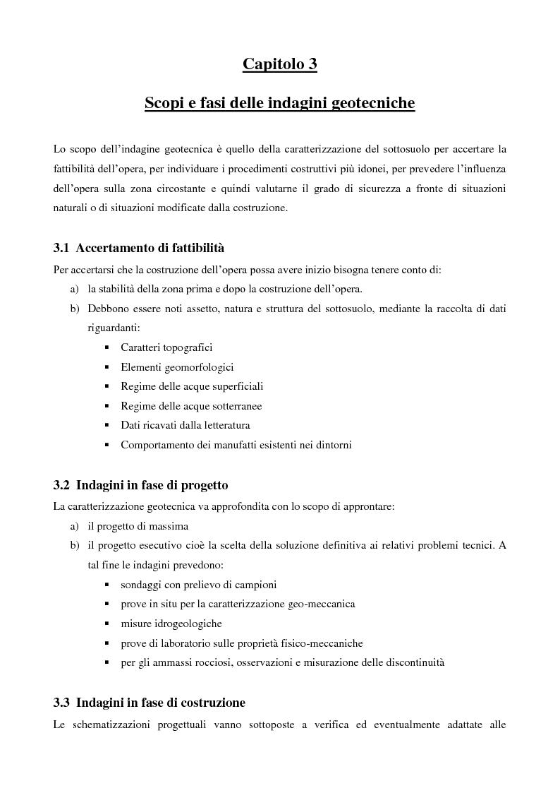 Anteprima della tesi: Caratterizzazione geologica e geotecnica di un sito per la realizzazione di un parco eolico, Pagina 6