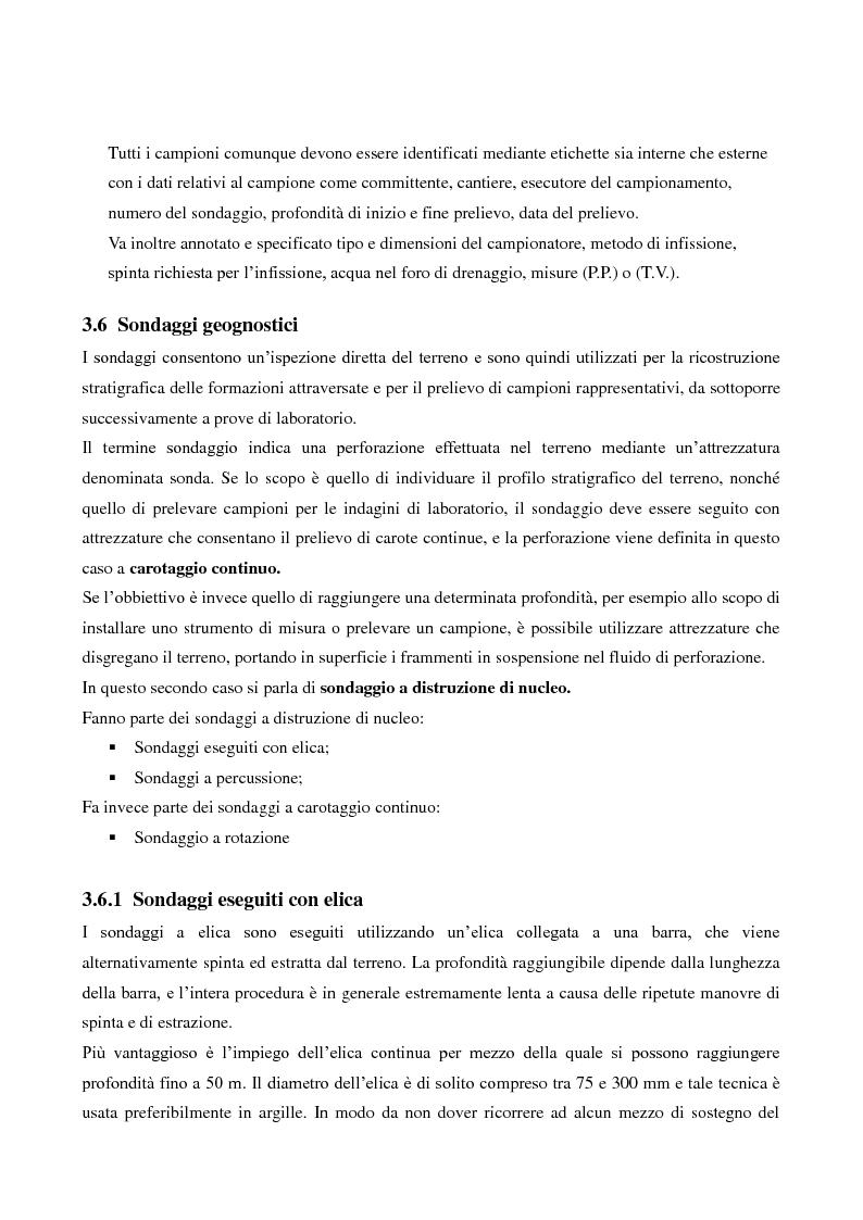 Anteprima della tesi: Caratterizzazione geologica e geotecnica di un sito per la realizzazione di un parco eolico, Pagina 9