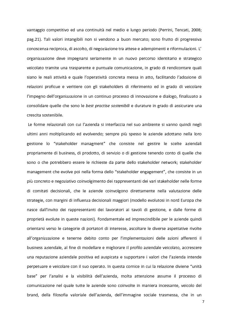 Anteprima della tesi: Percorsi identitari nell'ambito della Responsabilità Sociale d'Impresa, Pagina 4