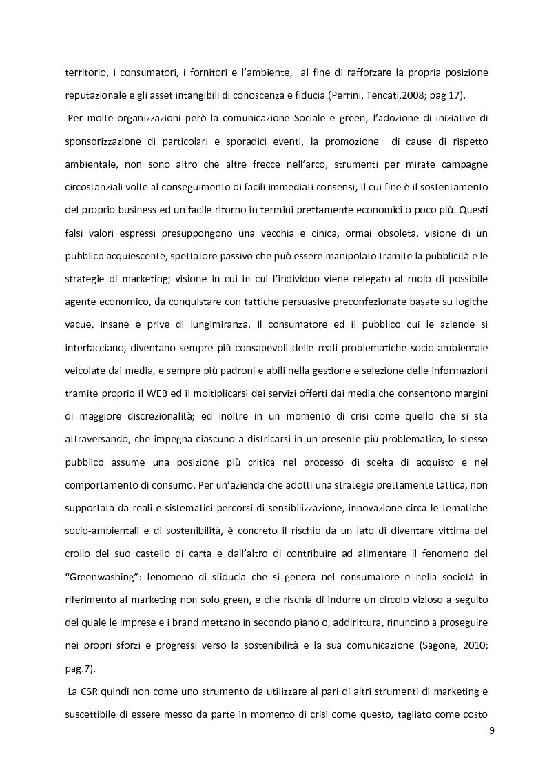 Anteprima della tesi: Percorsi identitari nell'ambito della Responsabilità Sociale d'Impresa, Pagina 6