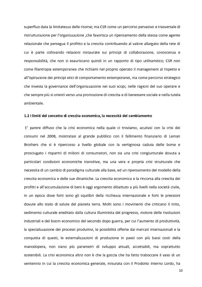 Anteprima della tesi: Percorsi identitari nell'ambito della Responsabilità Sociale d'Impresa, Pagina 7