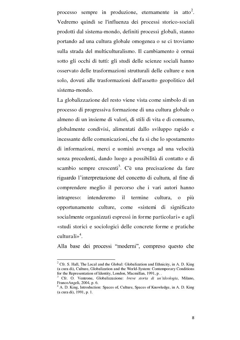 Anteprima della tesi: Alla ricerca della cultura globale, Pagina 3
