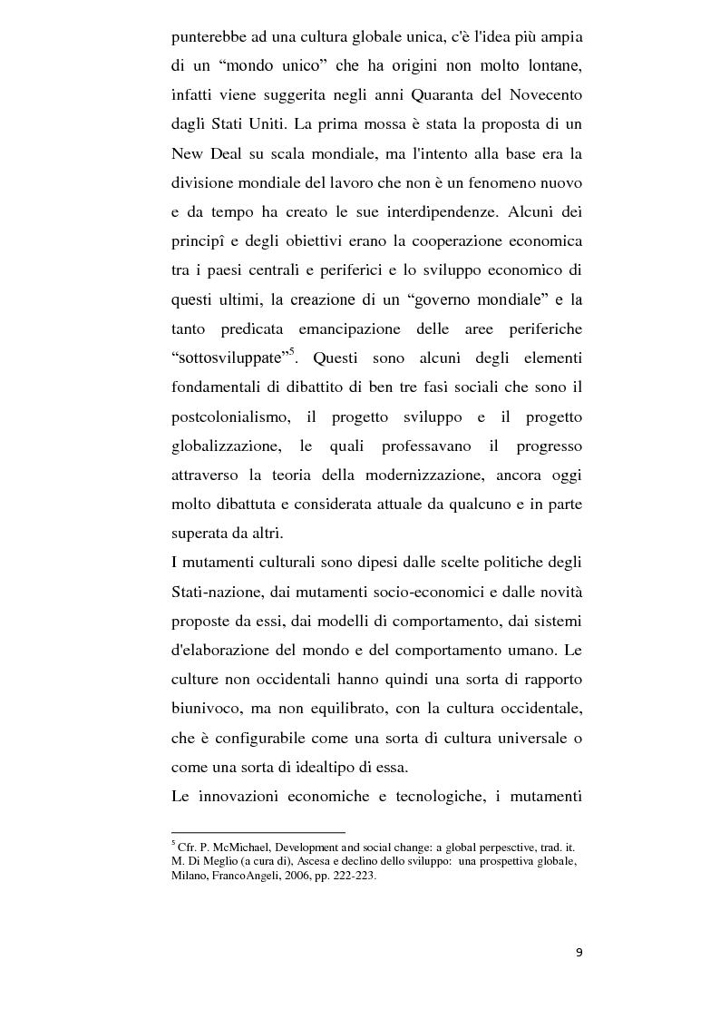 Anteprima della tesi: Alla ricerca della cultura globale, Pagina 4