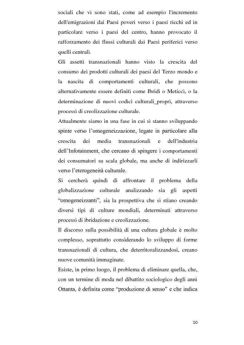 Anteprima della tesi: Alla ricerca della cultura globale, Pagina 5