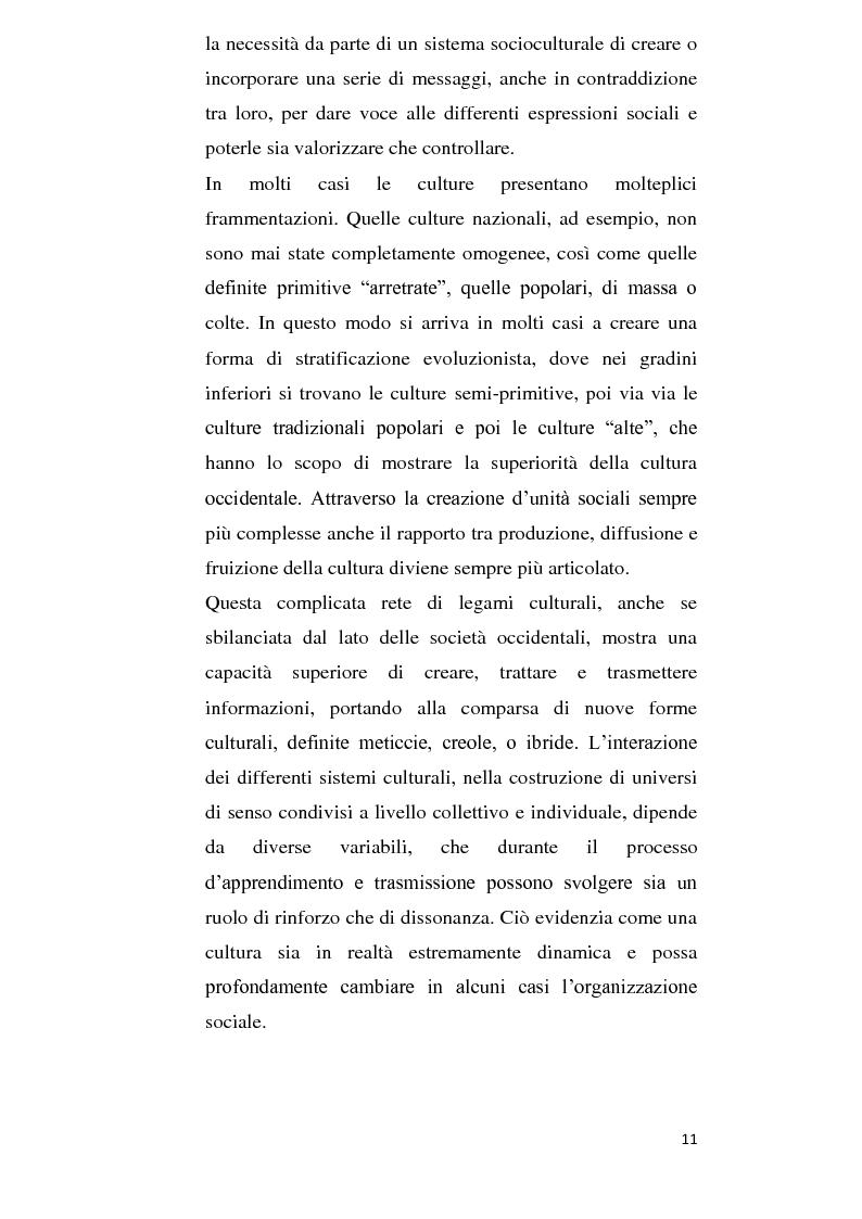 Anteprima della tesi: Alla ricerca della cultura globale, Pagina 6