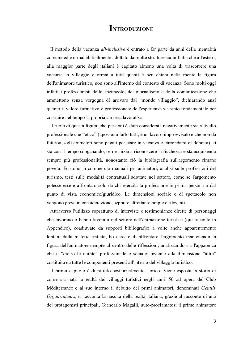 Anteprima della tesi: L'animatore turistico, Pagina 2