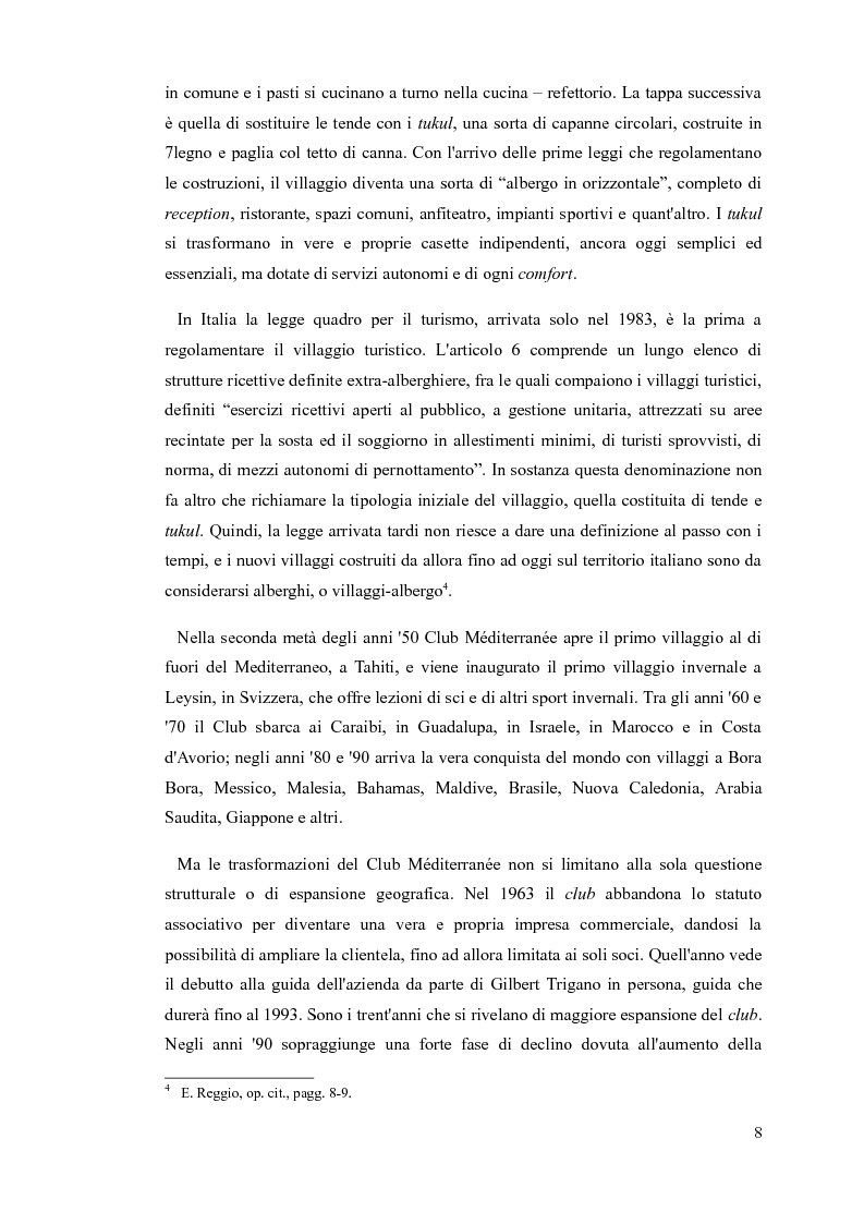 Anteprima della tesi: L'animatore turistico, Pagina 6
