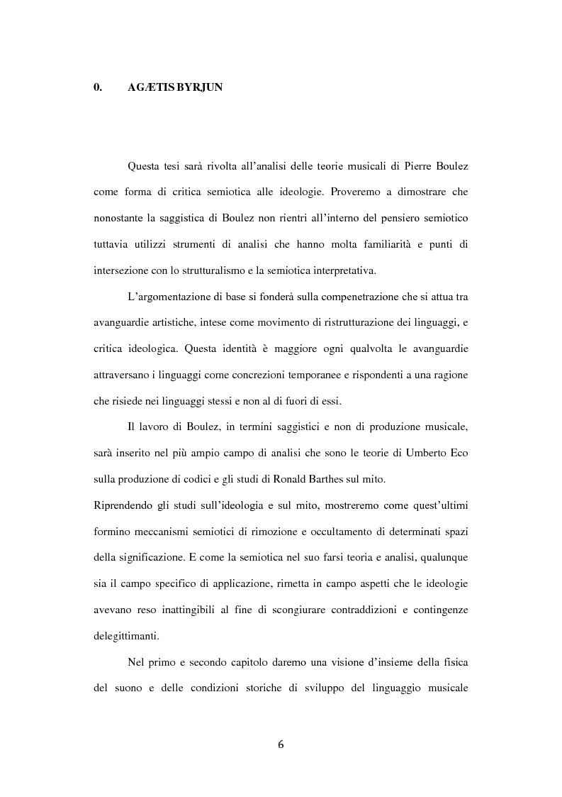 Anteprima della tesi: Semiotica del serialismo integrale, Pagina 2