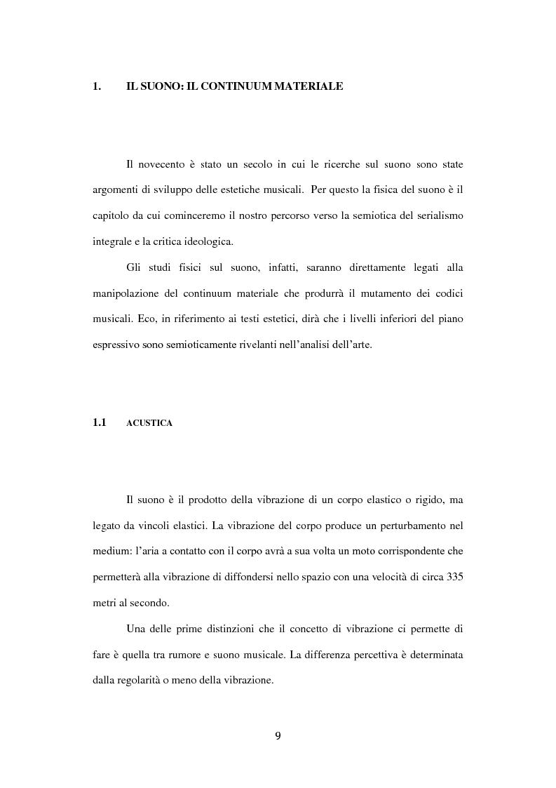 Anteprima della tesi: Semiotica del serialismo integrale, Pagina 5