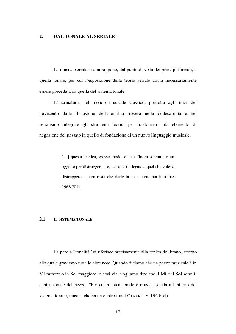 Anteprima della tesi: Semiotica del serialismo integrale, Pagina 9