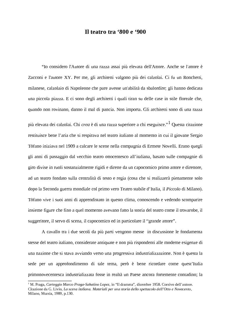 Anteprima della tesi: Tòfano scrittore, Pagina 2