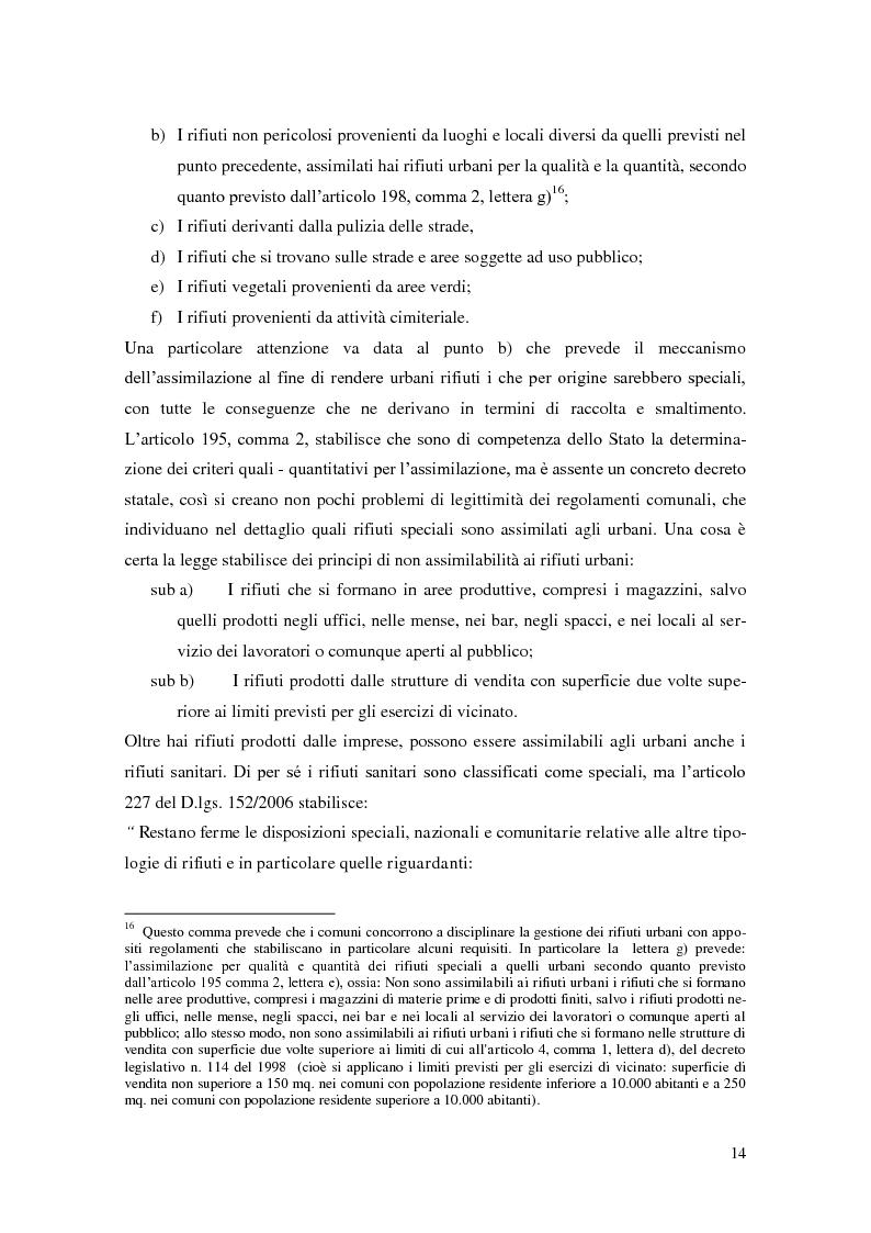 Anteprima della tesi: L'implementazione del SISTRI nella tracciabilità dei rifiuti: vantaggi e criticità, Pagina 12