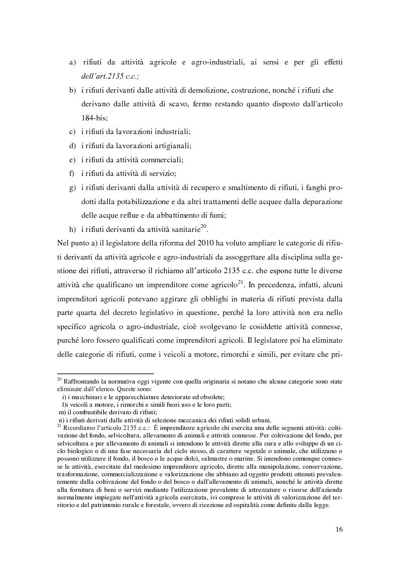 Anteprima della tesi: L'implementazione del SISTRI nella tracciabilità dei rifiuti: vantaggi e criticità, Pagina 14