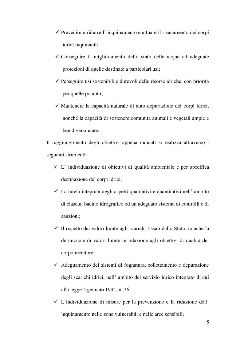 Anteprima della tesi: Impianti di depurazione a servizio di piccole comunità, con particolare riferimento ai sistemi MBR e ai processi elettrolitici., Pagina 6