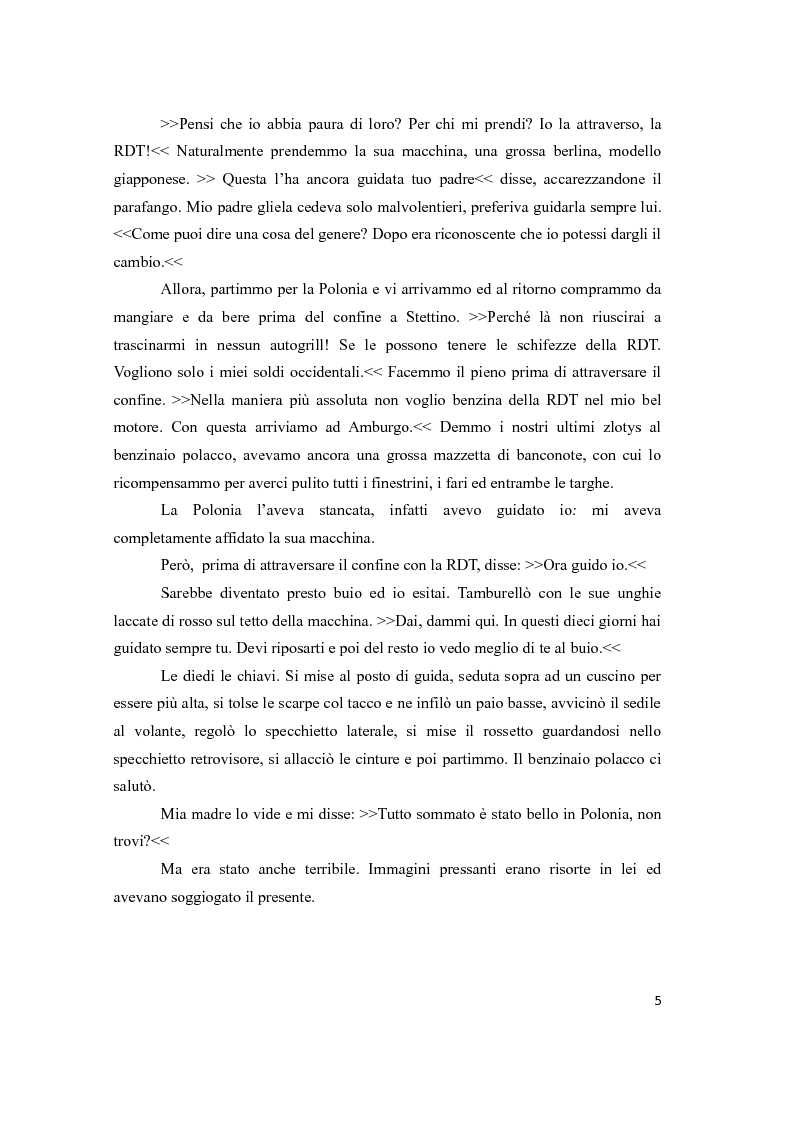 Anteprima della tesi: Traduzione e commento di tre racconti sulla Wendezeit, Pagina 5