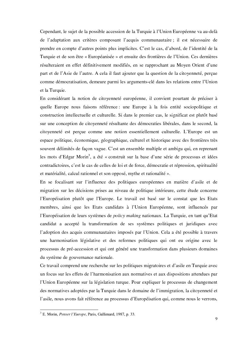 Anteprima della tesi: Chi bussa alla Sublime Porta. Migranti di Transito in Turchia: politiche migratorie e di cittadinanza nella sala d'aspetto d'Europa., Pagina 3