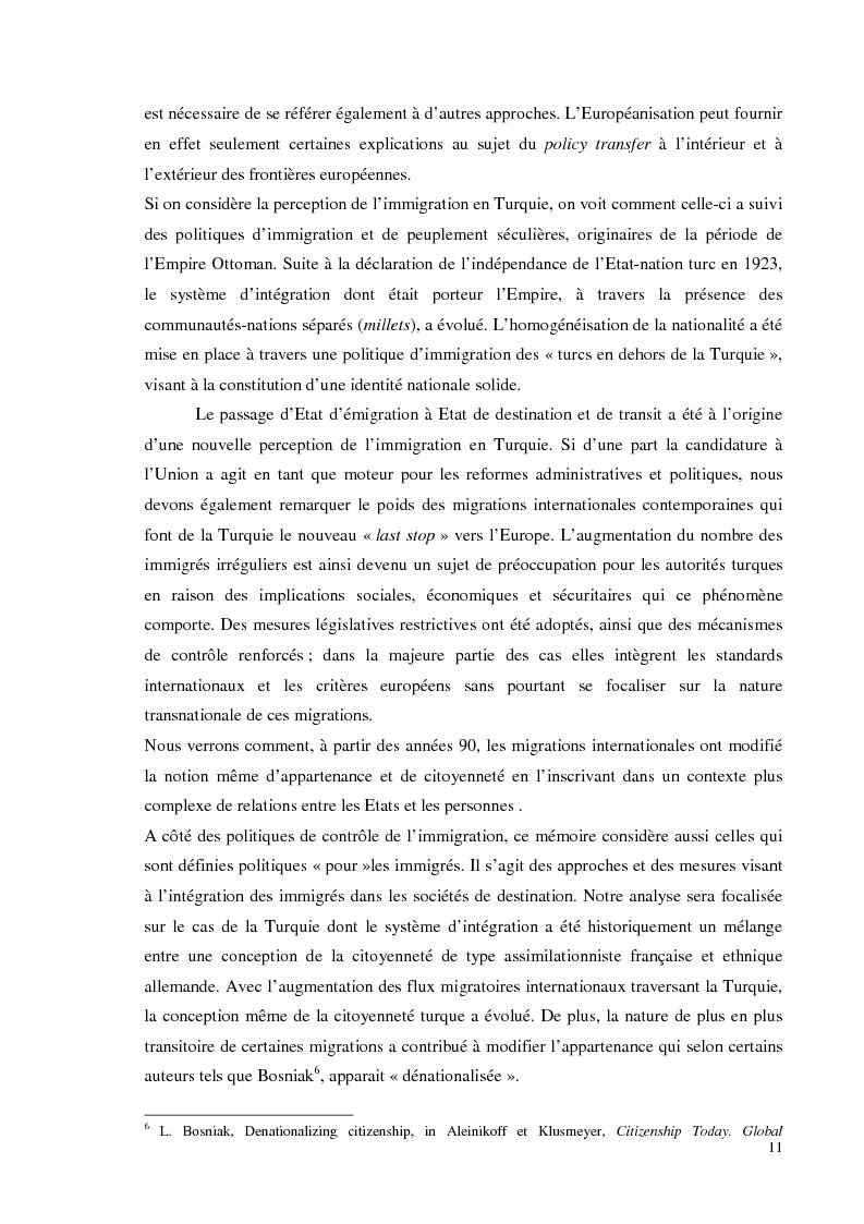 Anteprima della tesi: Chi bussa alla Sublime Porta. Migranti di Transito in Turchia: politiche migratorie e di cittadinanza nella sala d'aspetto d'Europa., Pagina 5