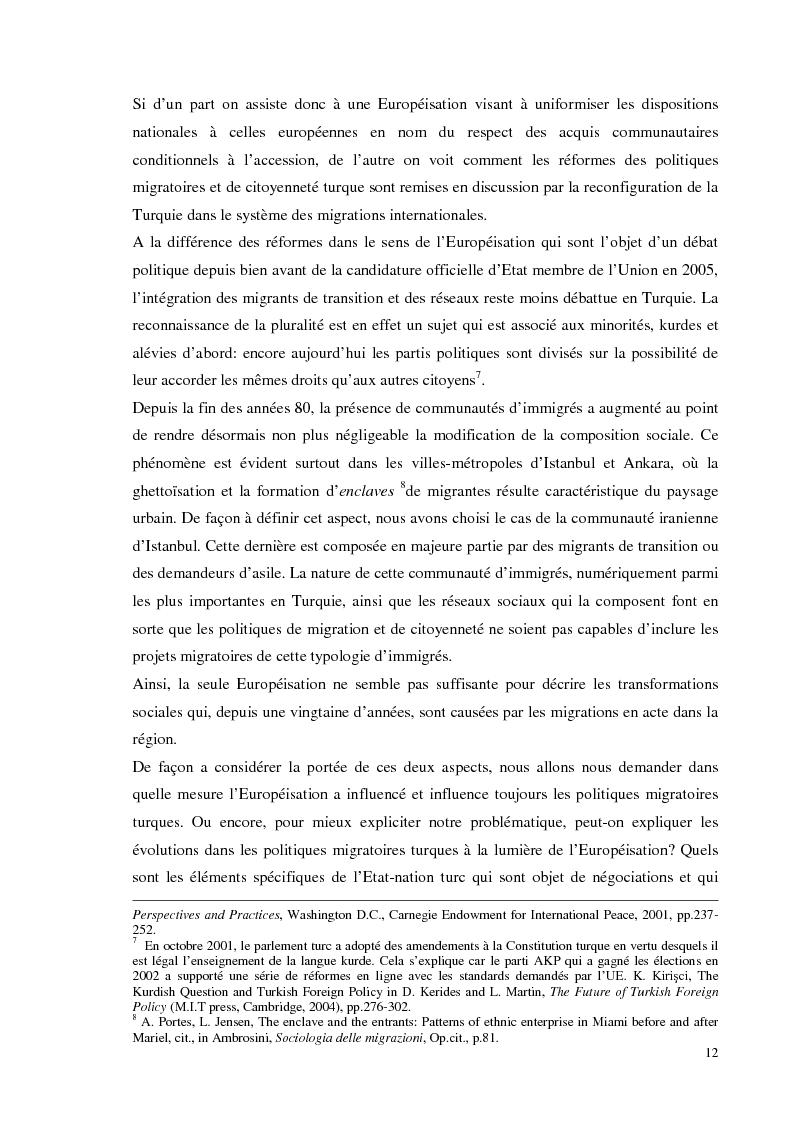 Anteprima della tesi: Chi bussa alla Sublime Porta. Migranti di Transito in Turchia: politiche migratorie e di cittadinanza nella sala d'aspetto d'Europa., Pagina 6