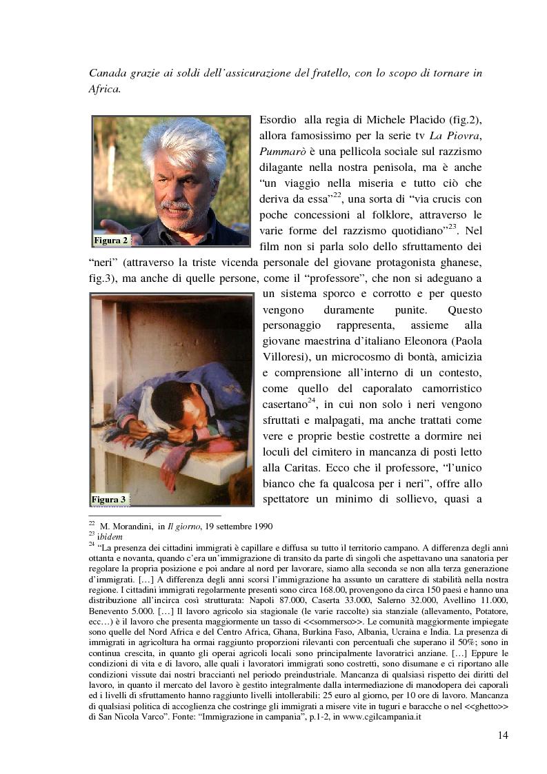 Anteprima della tesi: L'immigrazione a tutto schermo. Rappresentazione del migrante nel cinema italiano contemporaneo, Pagina 10