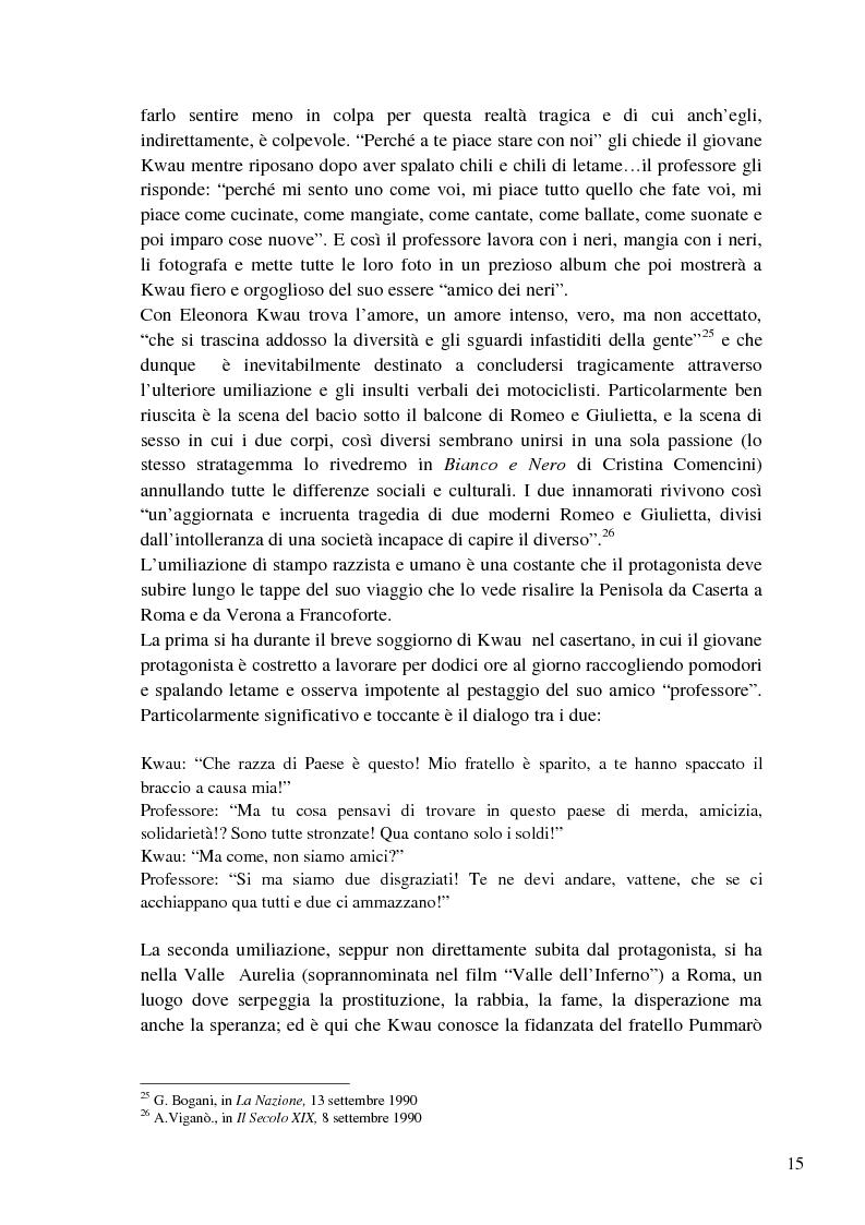 Anteprima della tesi: L'immigrazione a tutto schermo. Rappresentazione del migrante nel cinema italiano contemporaneo, Pagina 11