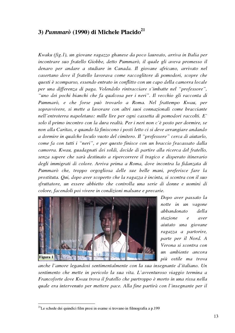 Anteprima della tesi: L'immigrazione a tutto schermo. Rappresentazione del migrante nel cinema italiano contemporaneo, Pagina 9
