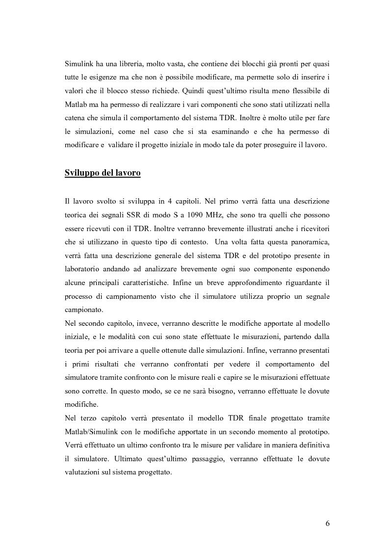 Anteprima della tesi: Valutazione sperimentale e simulativa per un ricevitore di segnali di modo S, Pagina 4