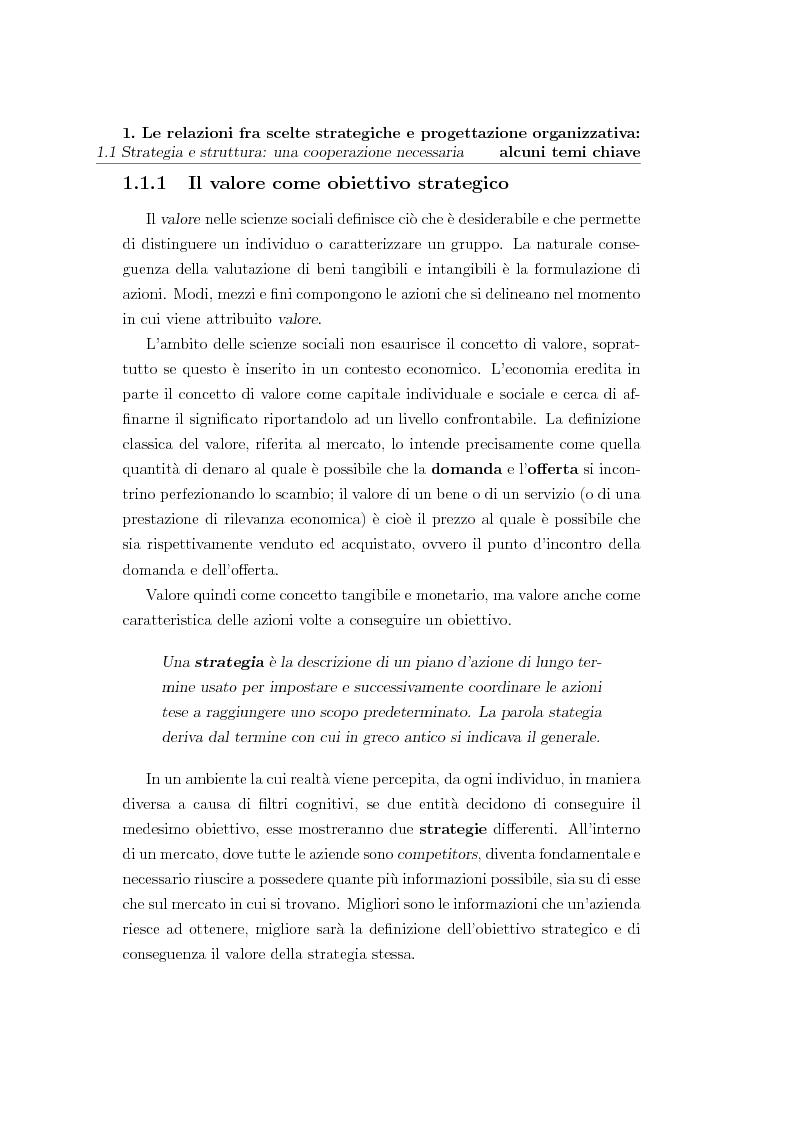 Anteprima della tesi: Scelte strategiche, sistemi informatici e collaborative network - Comportamenti organizzativi emergenti nel processo di gestione del cliente di una multi-utility, Pagina 3