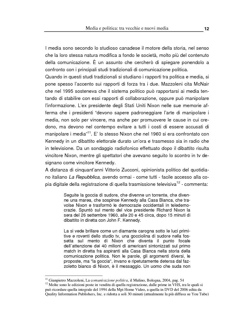 Anteprima della tesi: Oltre la massa? Il Pd tra vecchi e nuovi media. Analisi del caso torinese, Pagina 10