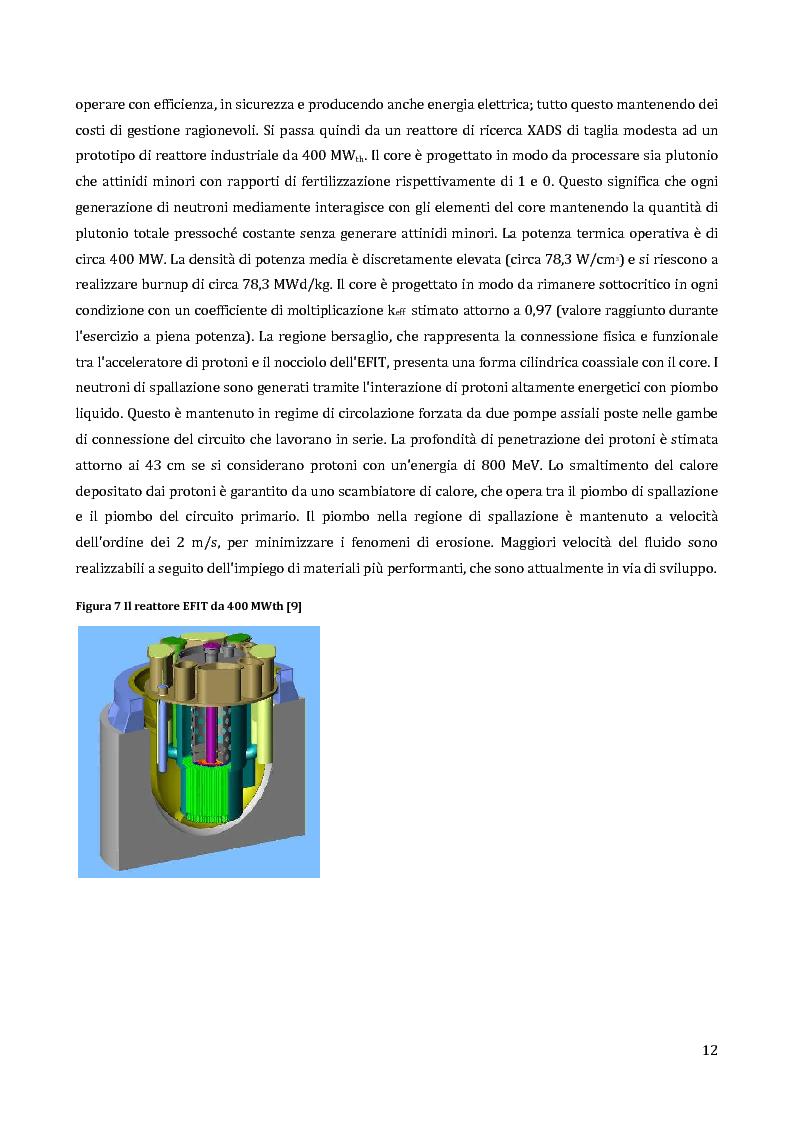 Anteprima della tesi: Velocimetria con gli ultrasuoni pulsati in un modello di target del reattore ADS, Pagina 11