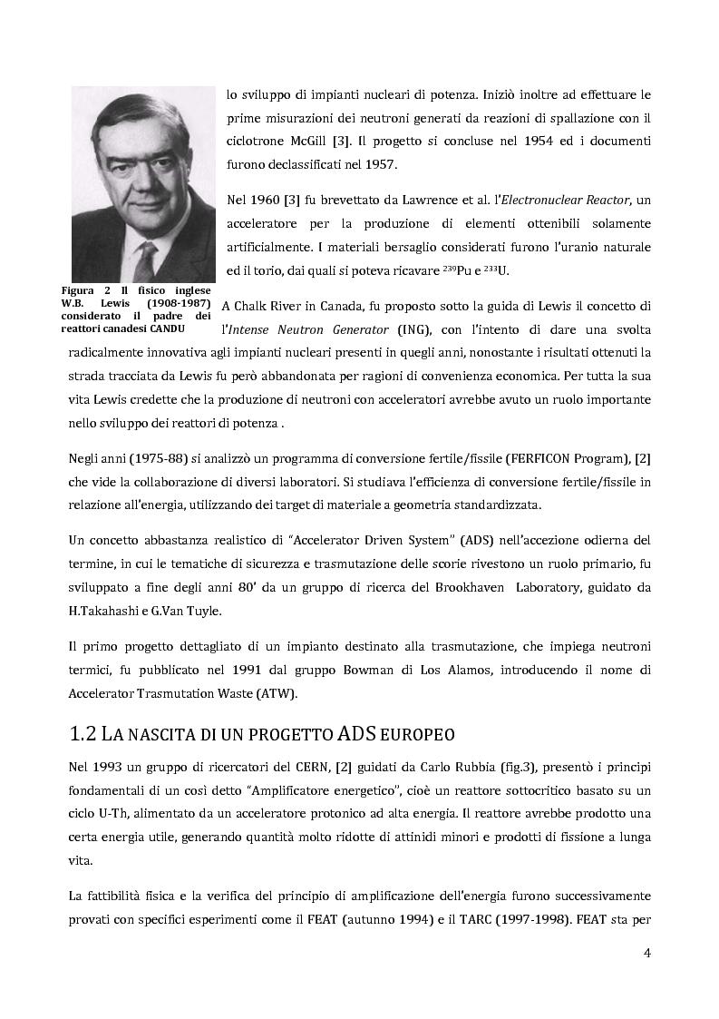 Anteprima della tesi: Velocimetria con gli ultrasuoni pulsati in un modello di target del reattore ADS, Pagina 3