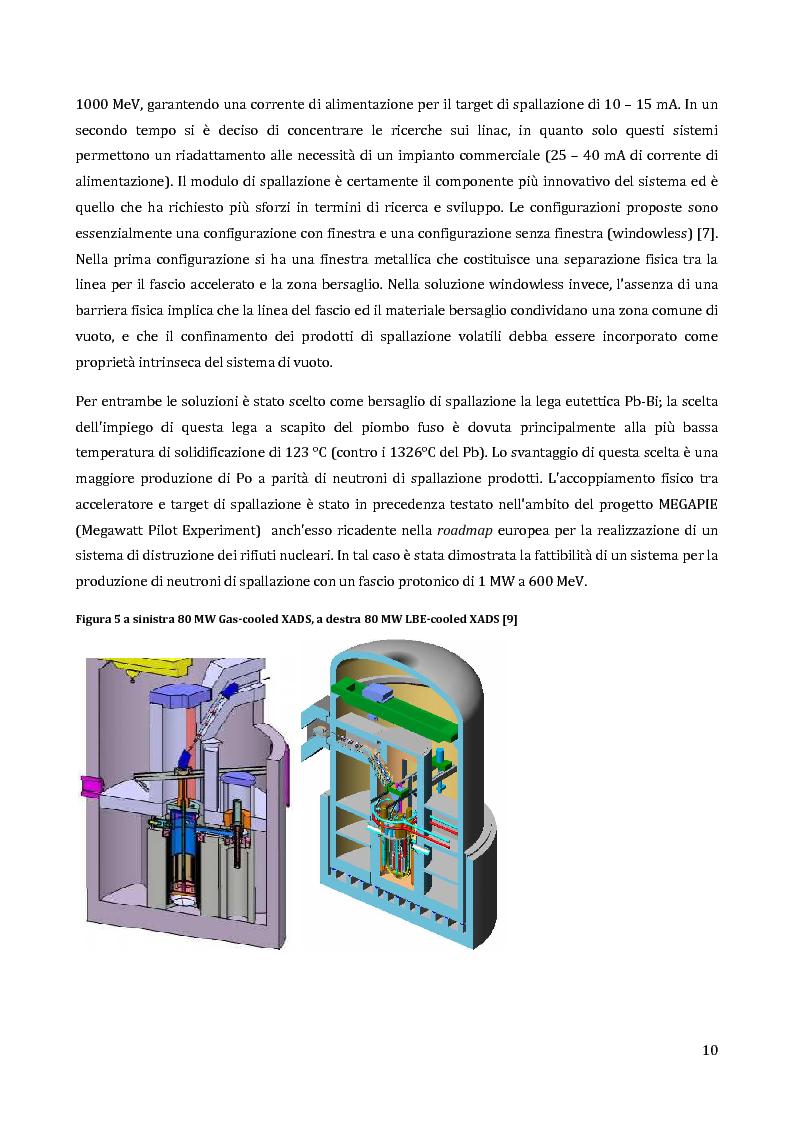 Anteprima della tesi: Velocimetria con gli ultrasuoni pulsati in un modello di target del reattore ADS, Pagina 9