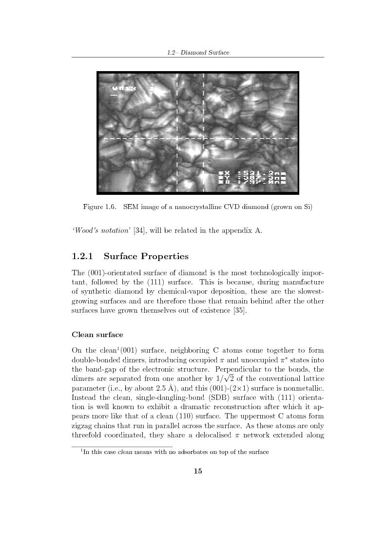 Anteprima della tesi: Study and characterization of diamond surface for biosensoring applications, Pagina 12