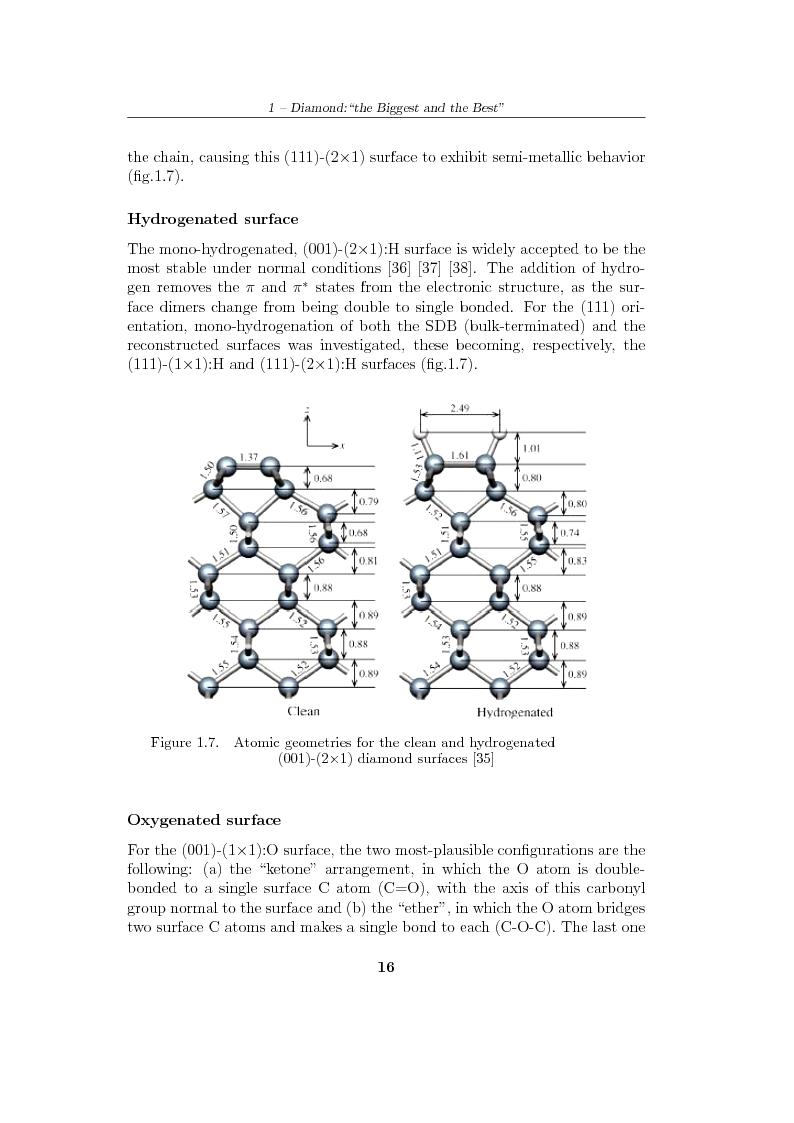 Anteprima della tesi: Study and characterization of diamond surface for biosensoring applications, Pagina 13