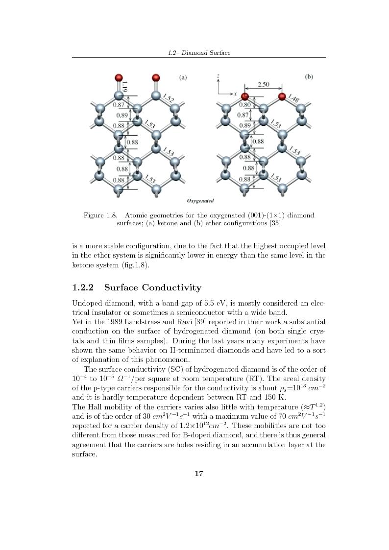 Anteprima della tesi: Study and characterization of diamond surface for biosensoring applications, Pagina 14