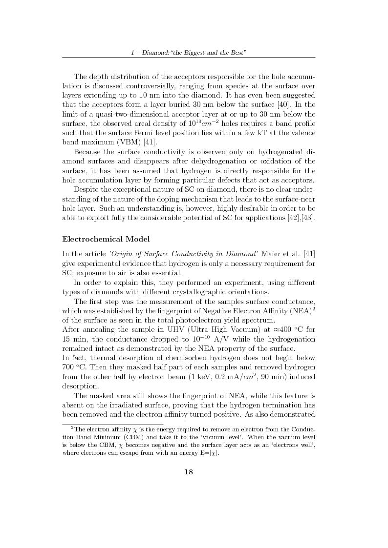 Anteprima della tesi: Study and characterization of diamond surface for biosensoring applications, Pagina 15