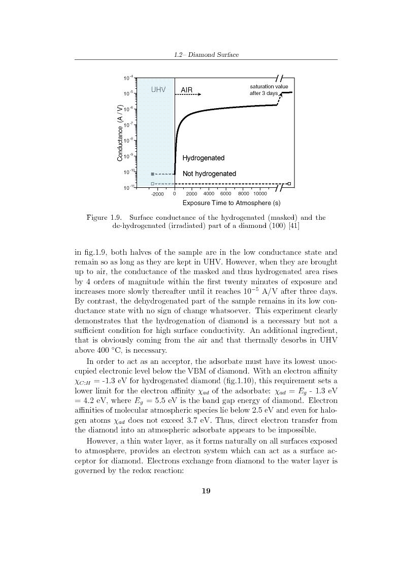 Anteprima della tesi: Study and characterization of diamond surface for biosensoring applications, Pagina 16