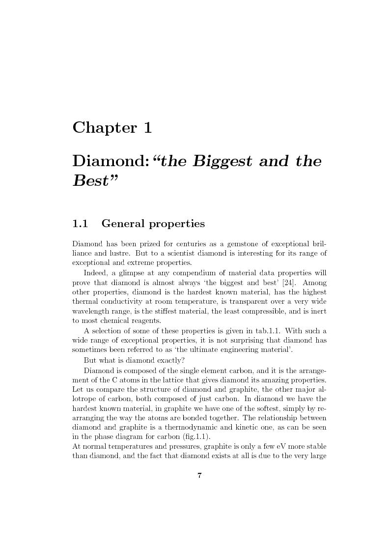 Anteprima della tesi: Study and characterization of diamond surface for biosensoring applications, Pagina 4