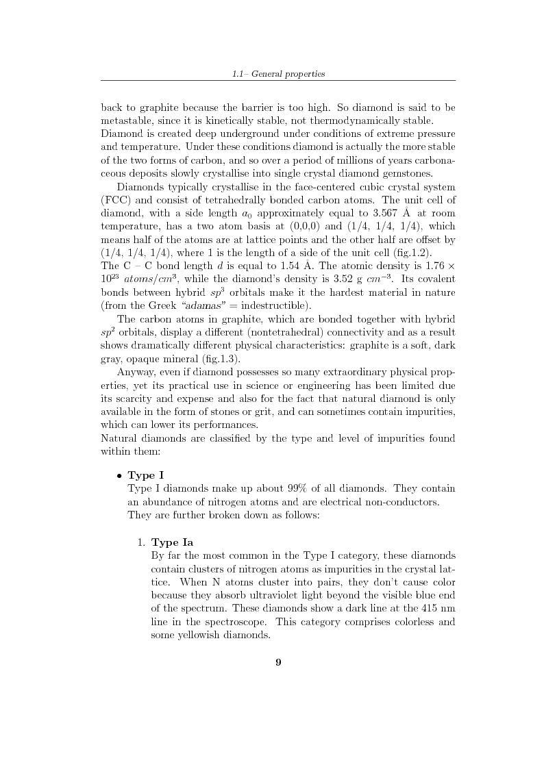 Anteprima della tesi: Study and characterization of diamond surface for biosensoring applications, Pagina 6