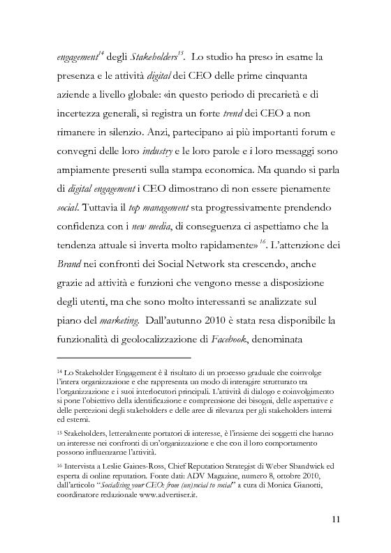 Anteprima della tesi: La comunicazione pubblicitaria diventa social, la pubblicità borderline. , Pagina 12