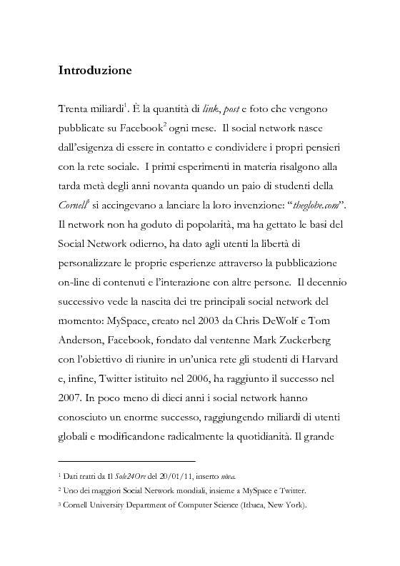 Anteprima della tesi: La comunicazione pubblicitaria diventa social, la pubblicità borderline. , Pagina 2