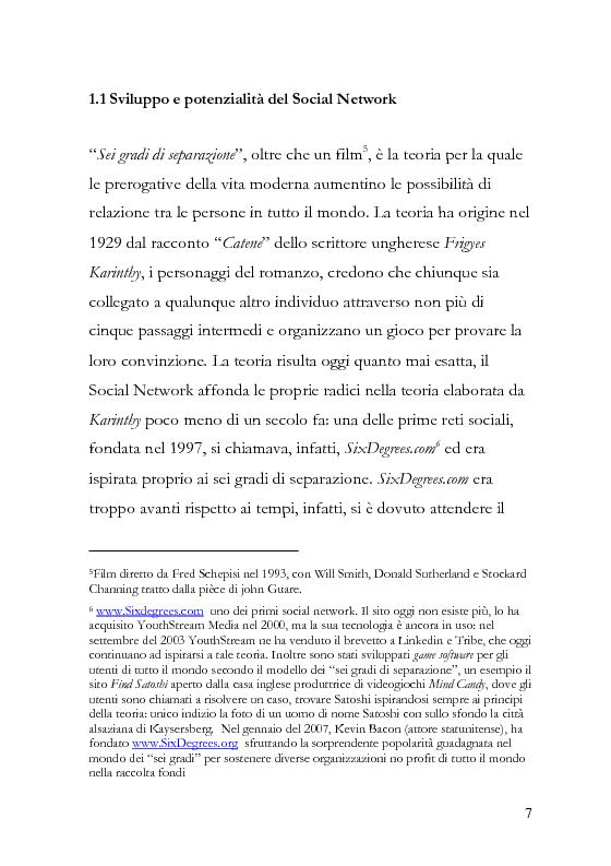 Anteprima della tesi: La comunicazione pubblicitaria diventa social, la pubblicità borderline. , Pagina 8