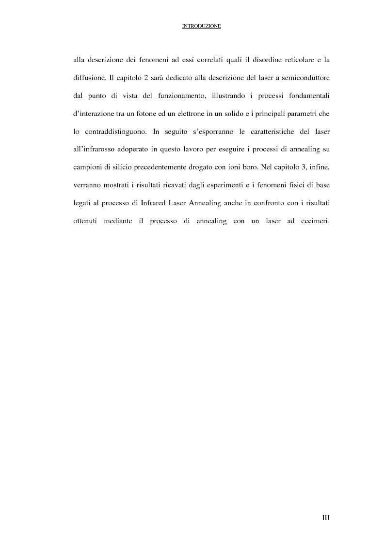 Anteprima della tesi: Il laser all'infrarosso nella tecnologia del silicio, Pagina 4