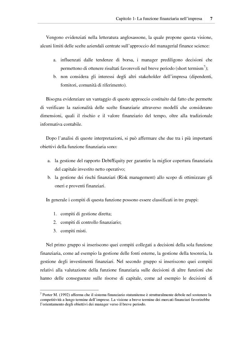 Anteprima della tesi: I benefici della pianificazione finanziaria per le PMI nell' accesso al credito bancario: analisi empirica, Pagina 12