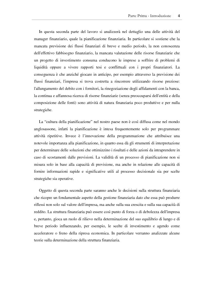 Anteprima della tesi: I benefici della pianificazione finanziaria per le PMI nell' accesso al credito bancario: analisi empirica, Pagina 9