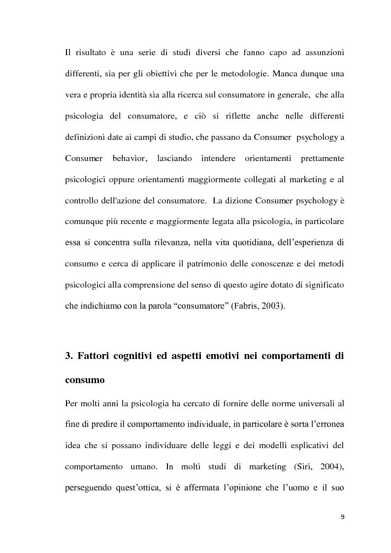 Anteprima della tesi: L'atmosfera del punto vendita. Luci, suoni, odori e sapori per riscoprire i sensi. Il caso Feltrinelli, Pagina 8