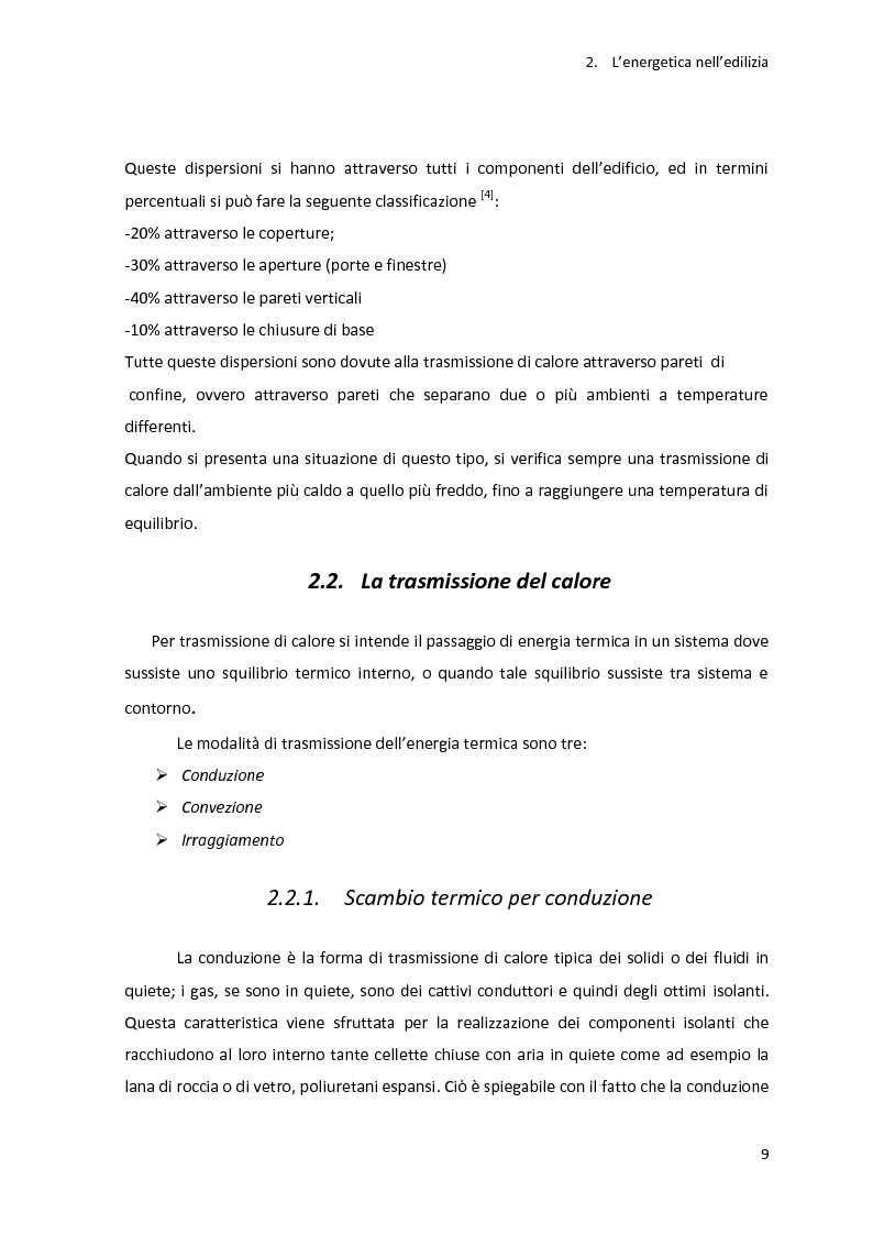 Anteprima della tesi: Analisi energetica di una struttura attraverso il confronto di tre programmi di calcolo: TRNSYS, TAS, DOCET, Pagina 10