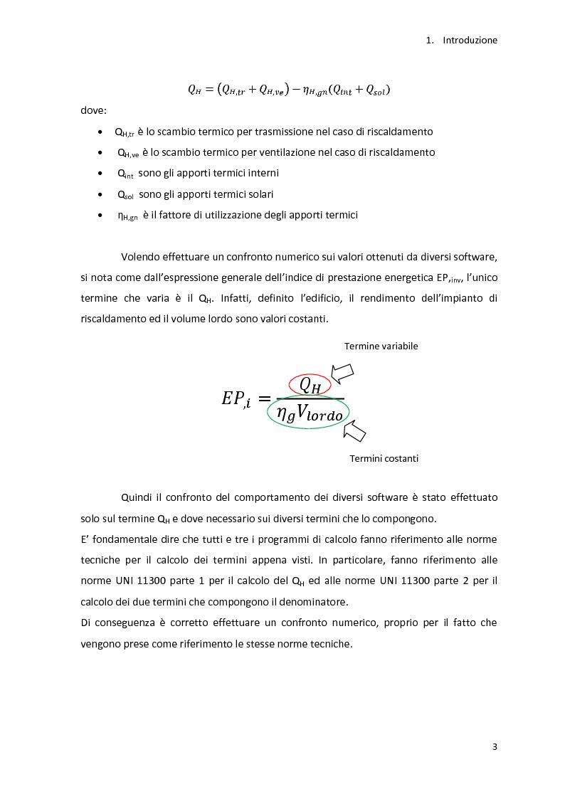 Anteprima della tesi: Analisi energetica di una struttura attraverso il confronto di tre programmi di calcolo: TRNSYS, TAS, DOCET, Pagina 4