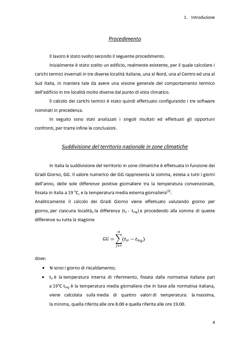 Anteprima della tesi: Analisi energetica di una struttura attraverso il confronto di tre programmi di calcolo: TRNSYS, TAS, DOCET, Pagina 5