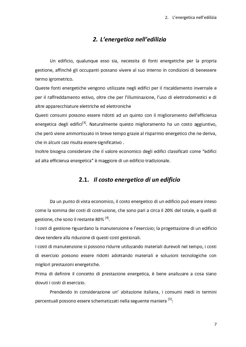 Anteprima della tesi: Analisi energetica di una struttura attraverso il confronto di tre programmi di calcolo: TRNSYS, TAS, DOCET, Pagina 8